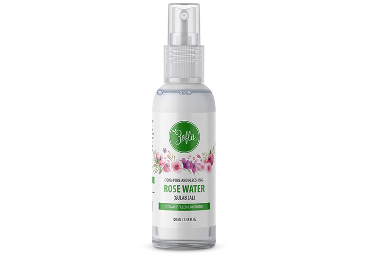 Zofla Natural and Pure Rose Water Best Rose Water in India