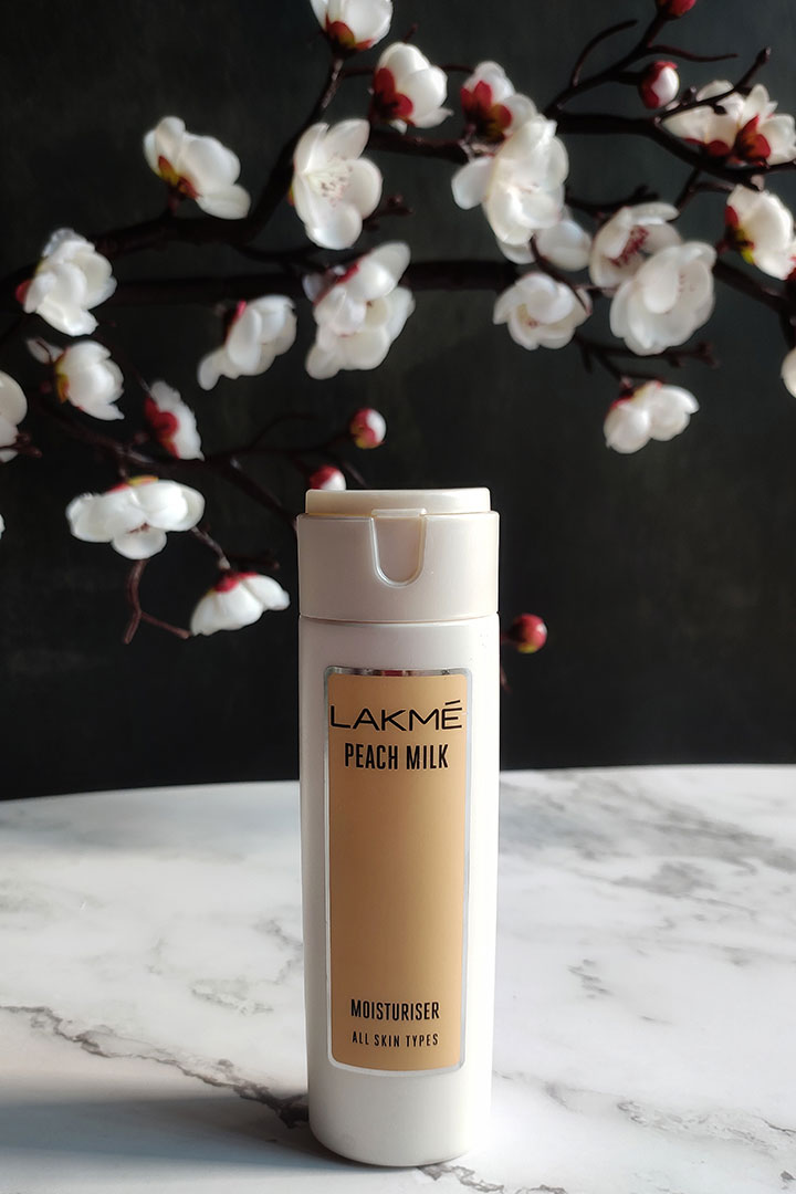 Lakme Peach Milk Moisturiser Review