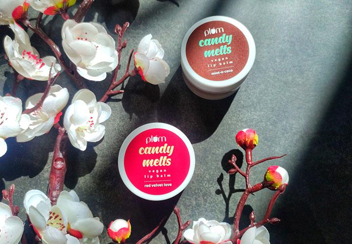 Plum Candy Melts Vegan Lip Balm Review