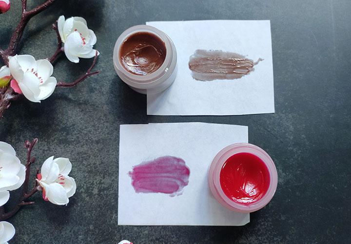 Plum Candy Melts Vegan Lip Balms Swatch
