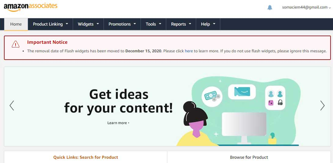 Amazon Affiliate Program India or Amazon Associates Program