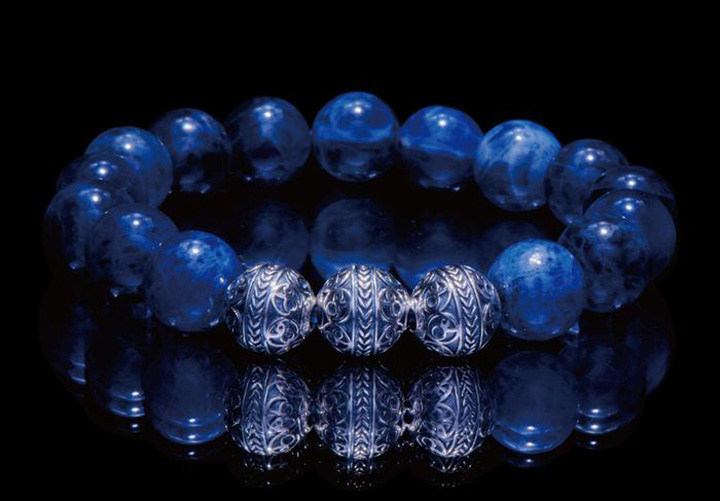 Azuro Republic's Men's Beaded Bracelets