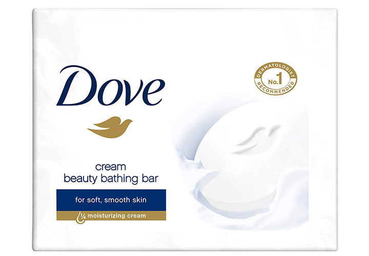 Dove White Beauty Bathing Bar The Best Soap in India for Dry and Sensitive Skin