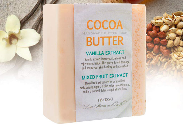 Nyassa Cocoa Butter Soap Best Handmade Soap in India