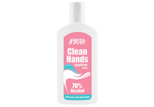 Nykaa Clean Hands Sanitizer