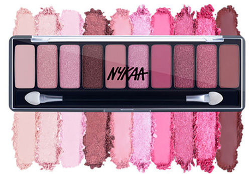 Nykaa Eyes On Me! 10 in 1 Eyeshadow Palette Makeup Products from Nykaa