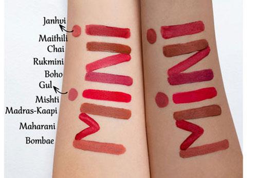 Nykaa Matte To Last! Liquid Mini Lipstick Swatches
