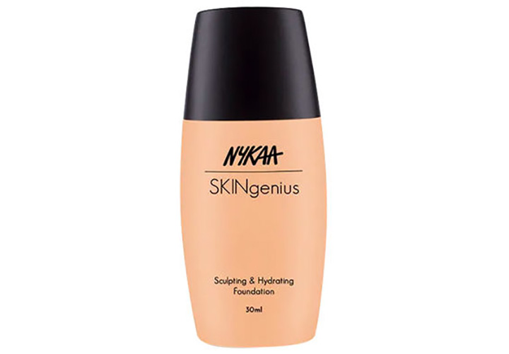 Nykaa SKINgenius Sculpting & Hydrating Foundation Best Nykaa Makeup Products
