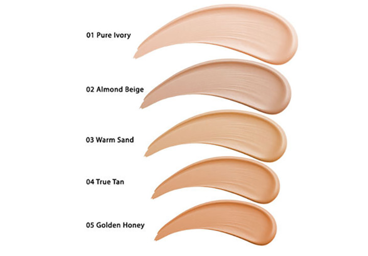 Nykaa SKINgenius Sculpting & Hydrating Foundation Swatches