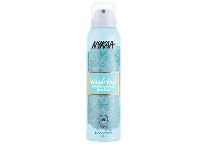 Nykaa Wanderlust Deodorant Spray Fragrance Range from Nykaa`
