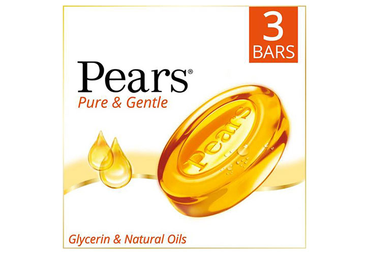 Pears Pure and Gentle Bathing Bar The Best Soap in India