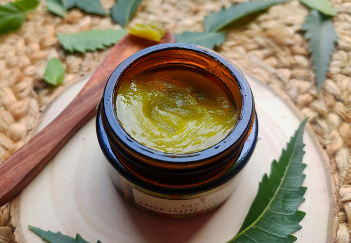 Vanaha Botanical Skincare Green Leaves Night Repair Face Balm Ingredient Analysis