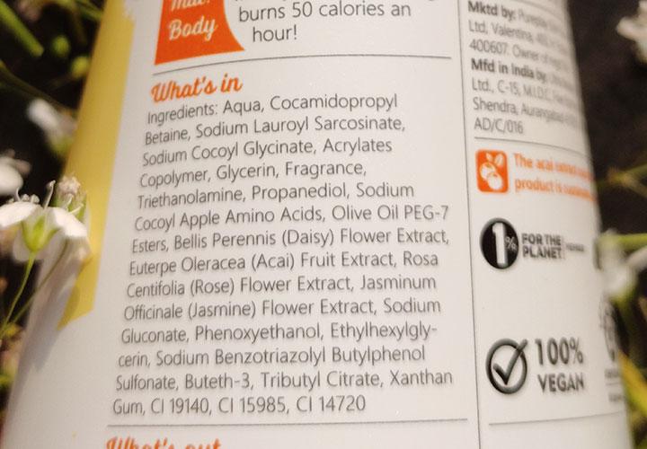 Plum Body Lovin Shower Gel Ingredients