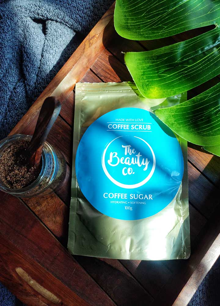 The Beauty Co. Coffee Sugar Scrub Review with Ingredient Analysis