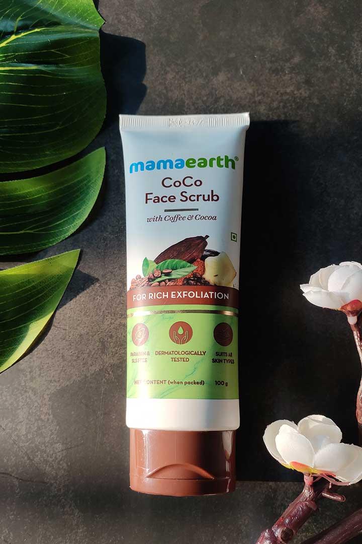 Mamaearth Coco Face Scrub Review