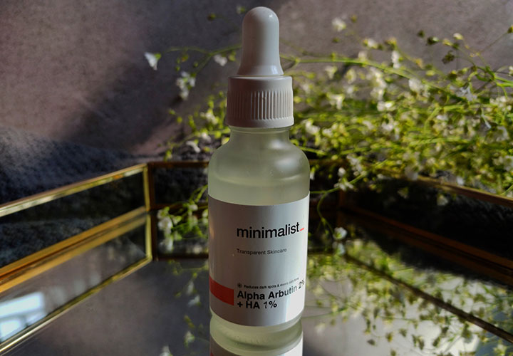 Minimalist Alpha Arbutin 2% plus Hyaluronic Acid (HA) 1%