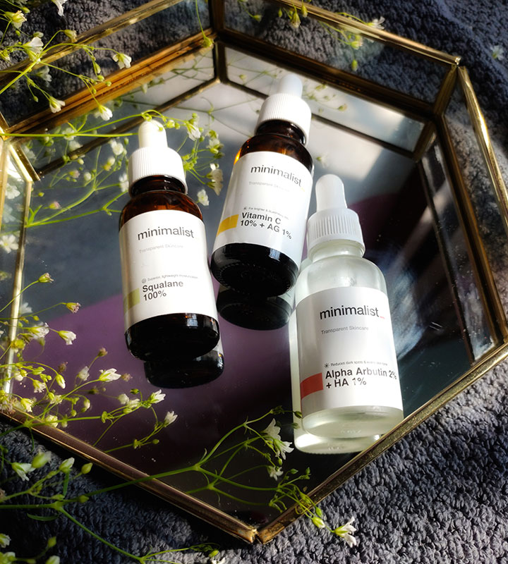 Minimalist Clean Beauty Brand Products Review