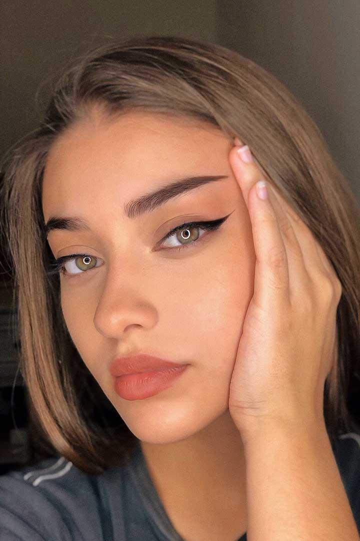 Soft Eye Makeup for Hooded Eyes