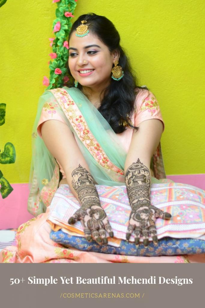 50+ Simple Easy Beautiful Mehendi Designs for All