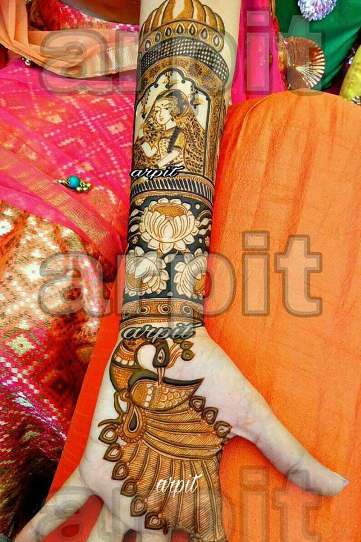Bridal Mehendi Design As Special As the Bride