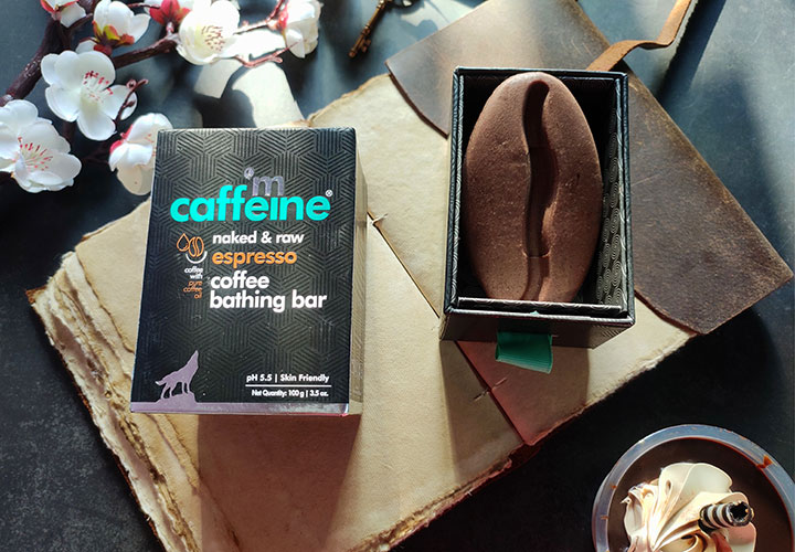 MCaffeine Expresso Coffee Bathing Bar Review with Ingredient Analysis