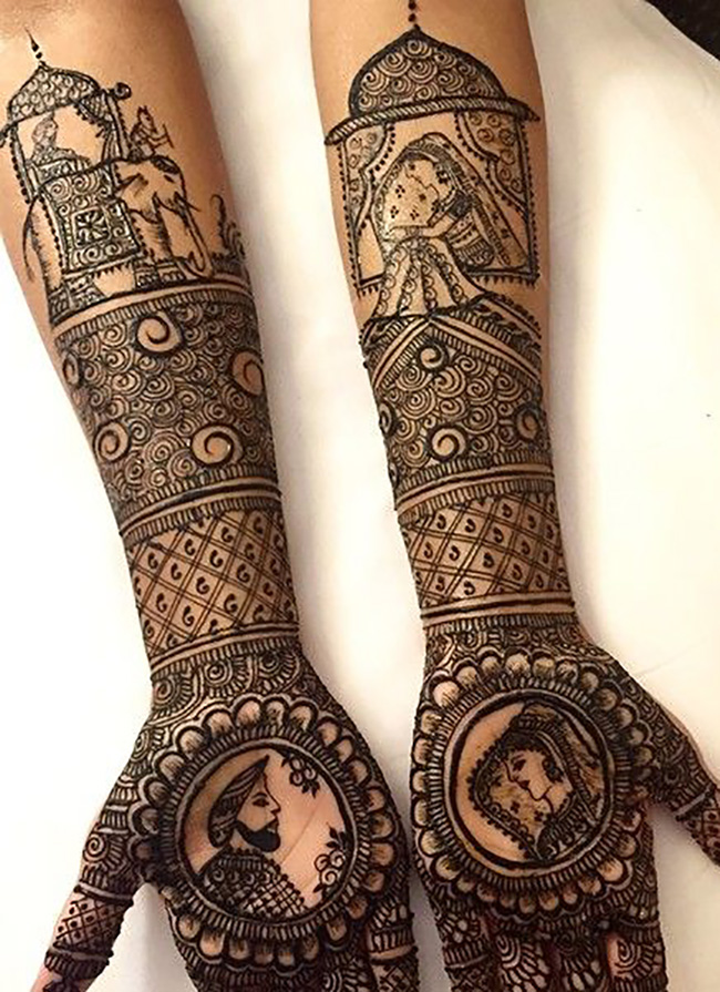 Mehendi Design Inspired by the Wedding Tradition and Culture