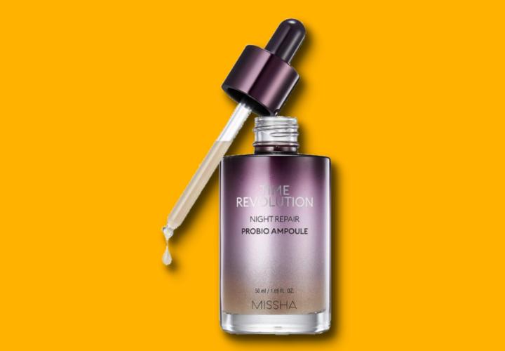 Missha Time Revolution Night Repair Science Activator Ampoule Serum Best Korean Skin Treatements