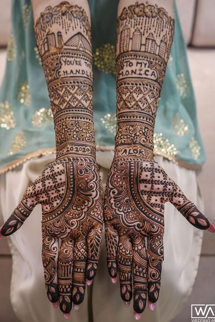 Modern Mehendi Design for the Next-Gen Brides