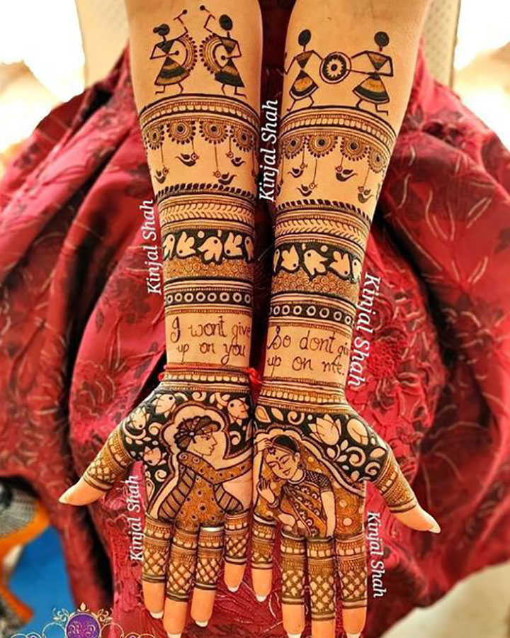 Tribal-Inspired Mehendi Design You Must Try This Year