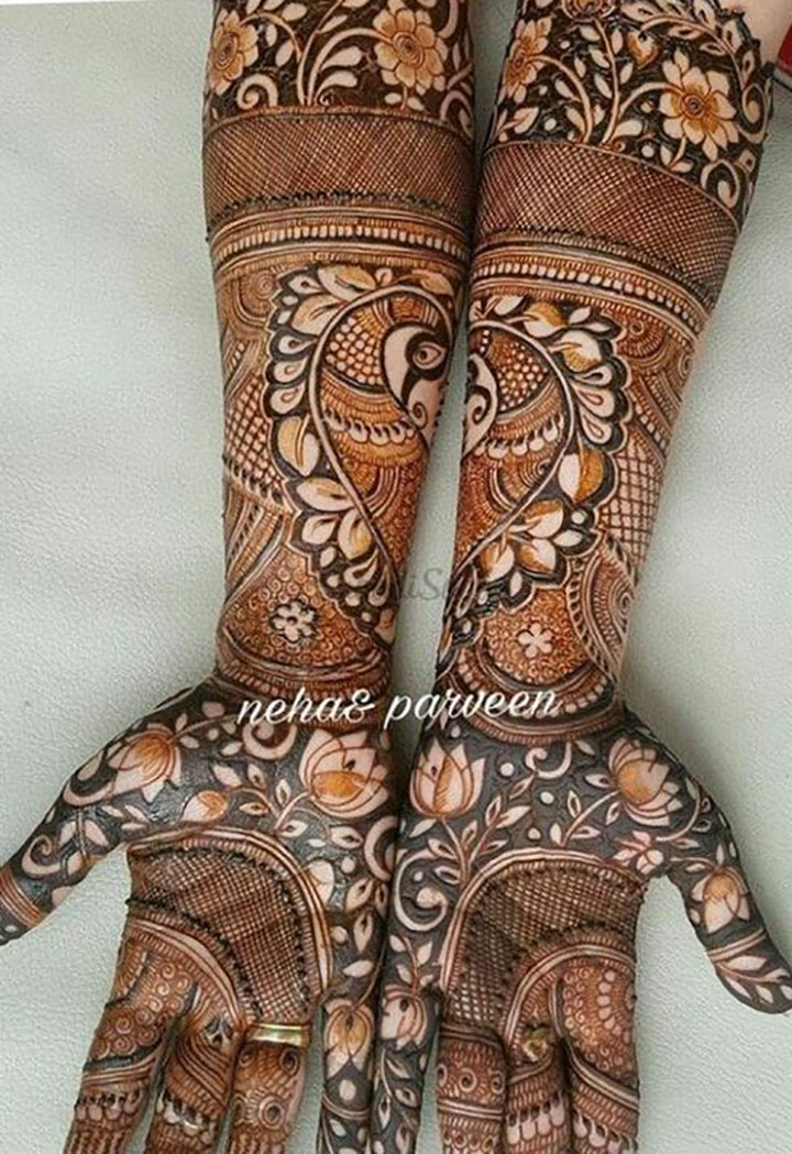 Welcome Spring with this Mehendi Design