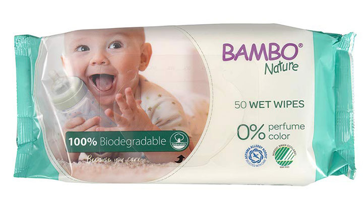 Bambo Nature Baby Wet Wipes Best Unscented Baby Wipes