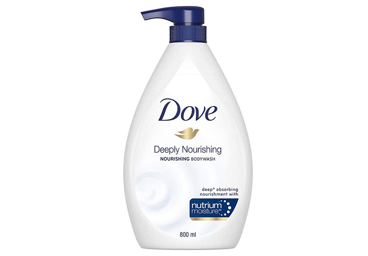 Dove Deeply Nourishing Body Wash Best Body Wash in India for Sensitive Skin.