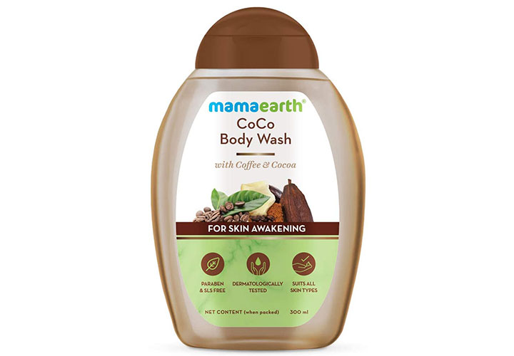 Mamaearth Coco Body Wash With Coffee & Cocoa For Skin Awakening Best Body Wash in India for Women