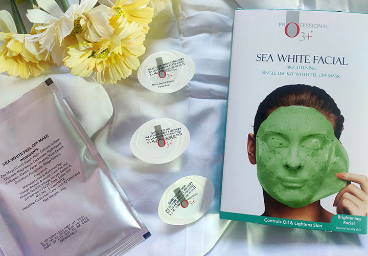 O3+ Professional Sea White Facial Kit Review with Ingredient Analysis