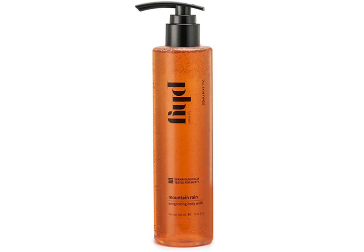 Phy Mountain Rain Invigorating Body Wash Best Body Wash for Men in India