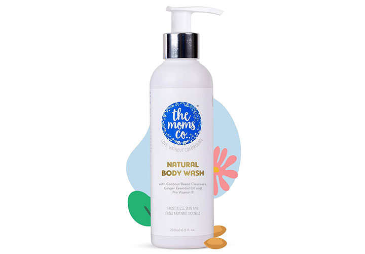 The Moms Co. Natural Body Wash Best Body Wash in India for Sensitive