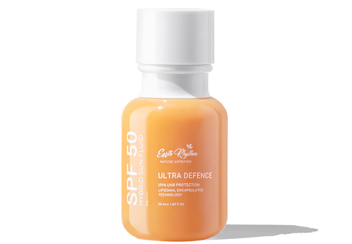 Earth Rhythm Hybrid Sun Fluid SPF 50 is Another New Launched Products