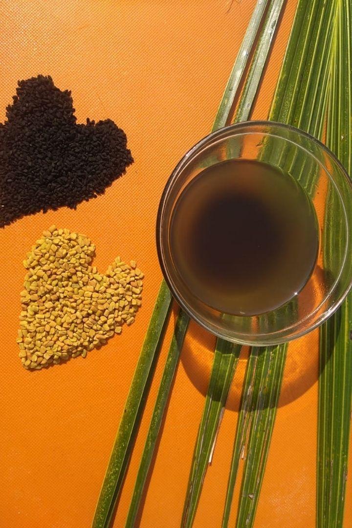 Healthy Hair Oil Recipe Using Coconut OIl