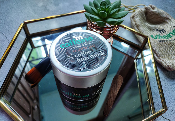 MCaffeine Naked and Raw Espresso Coffee Face Mask Review