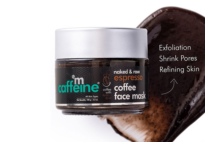 MCaffeine Naked and Raw Expresso Coffee Mask