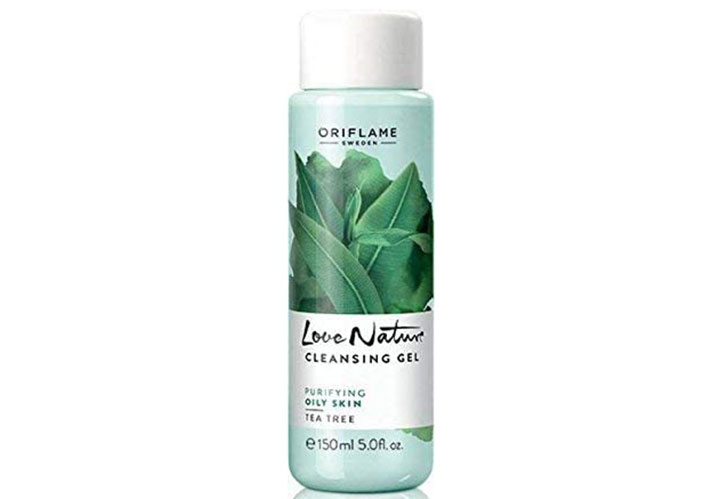 Oriflame Love Nature Tea Tree Cleansing Gel Most Loved Face Wash in India