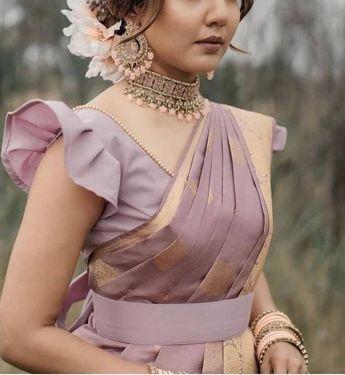 Princess-Cut Latest Blouse Design