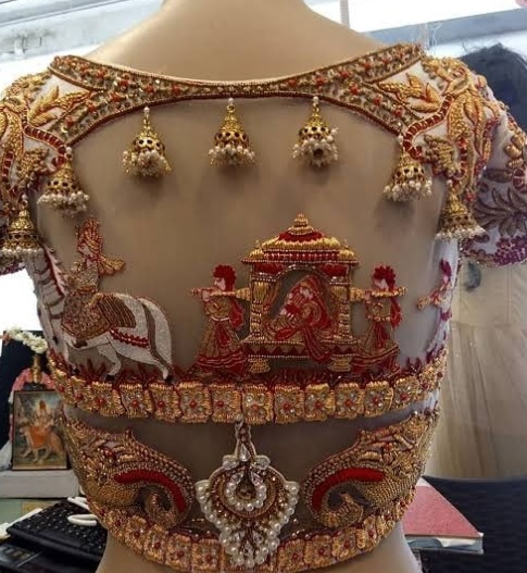 The Ultimate Bridal Blouse Design