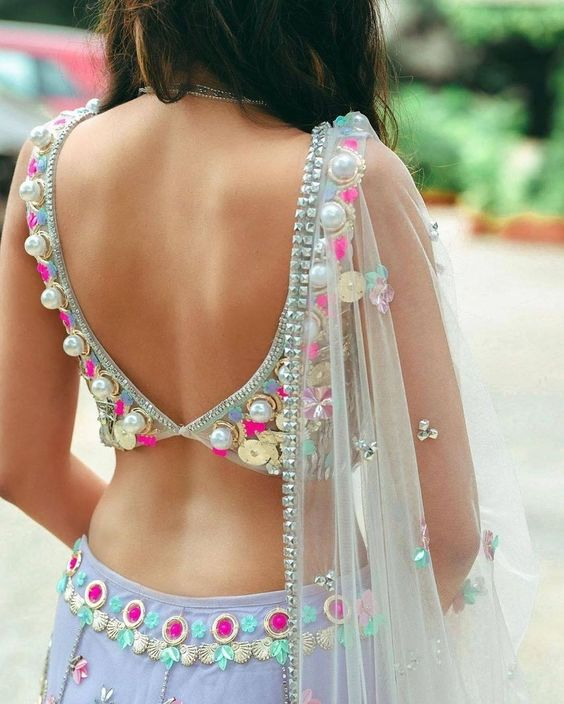 Trendy Blouse Design Ready for the Big Event