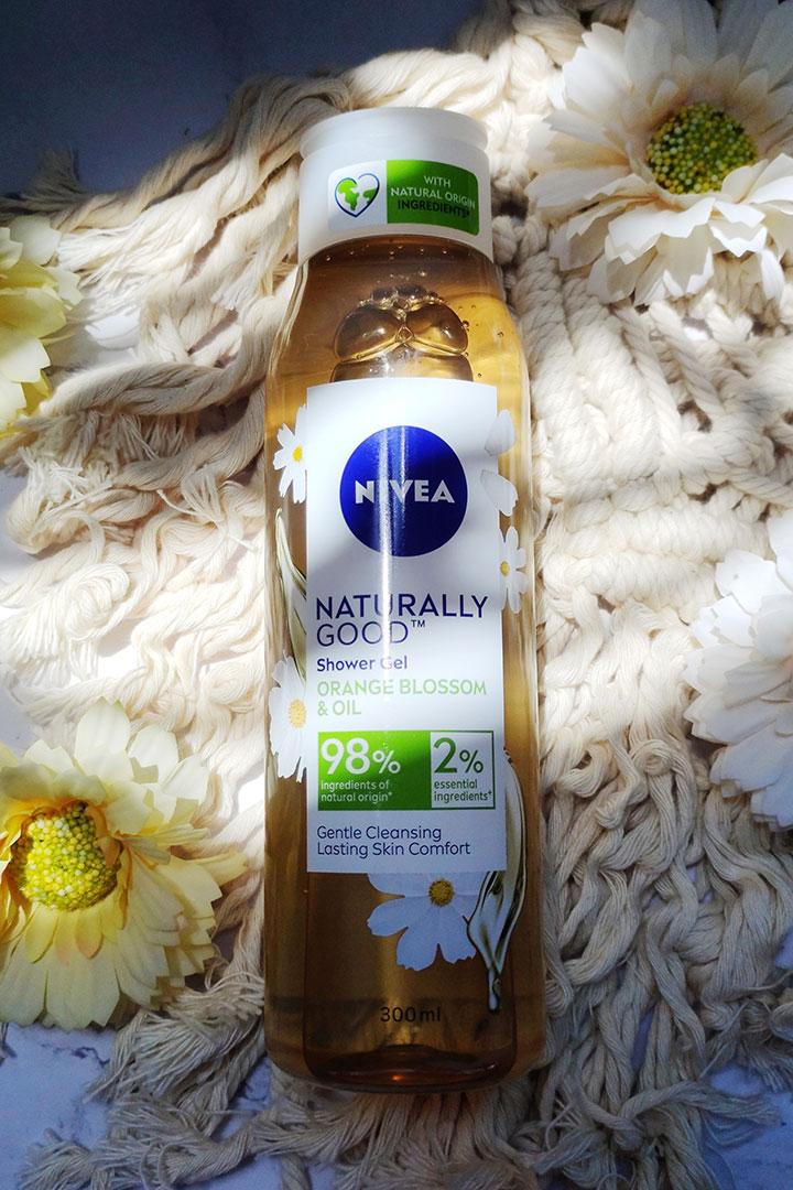 NIVEA Naturally Good Orange Blossom and Oil Shower Gel Review