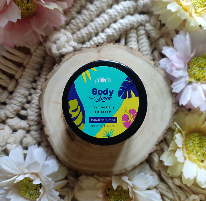 Plum BodyLovin' Hawaiian Rumba De-odorizing Pit Cream Review with Ingredient Analysis