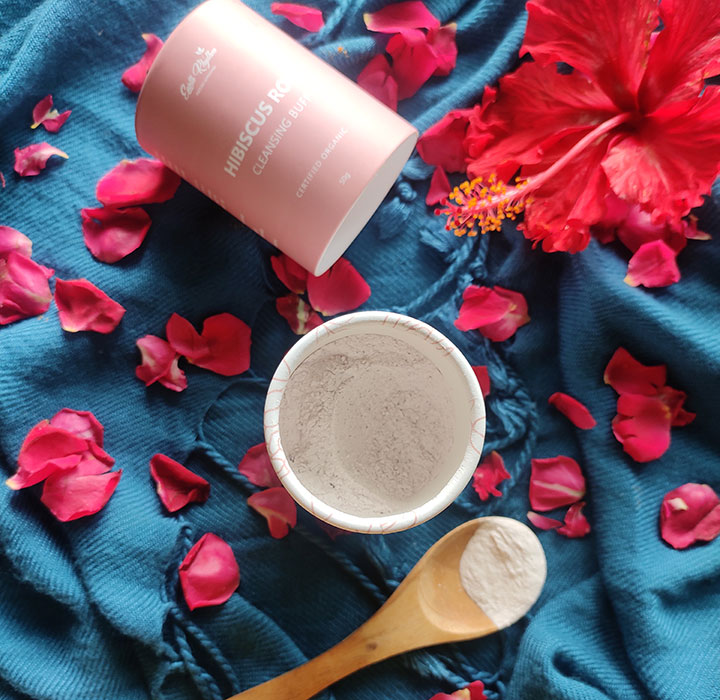 Earth Rhythm Hibiscus Rose Cleansing Buff Review with Ingredient Analysis