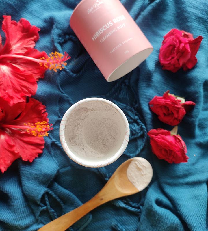 Earth Rhythm Hibiscus Rose Powder Cleanser