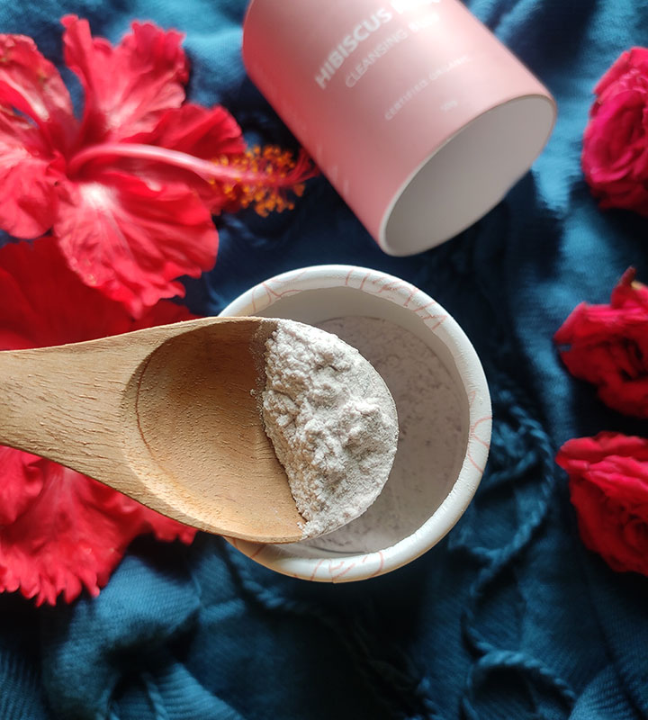 Texture of Earth Rhythm Hibiscus Rose Cleansing Buff