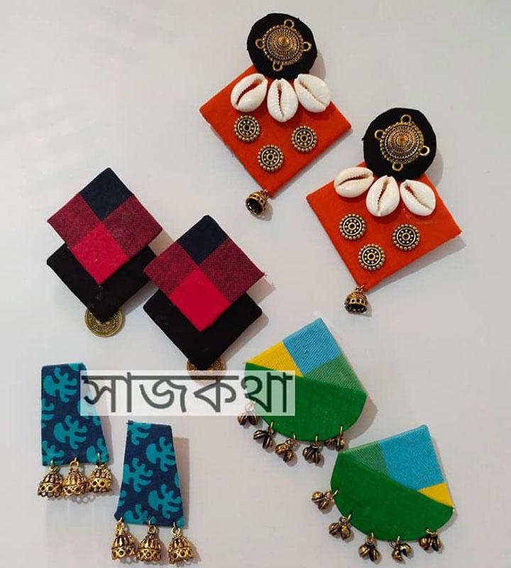 Beautiful Handmade Jewellery by Sreya Bose Saha The Owner of Saajkatha